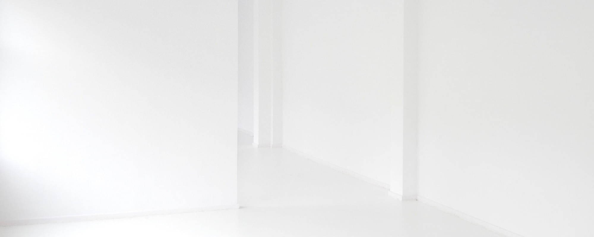 white columns in white background